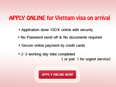 Apply vietnam visa for US